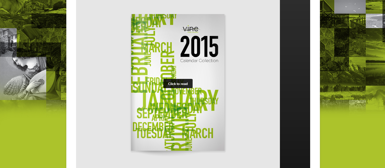 2015 Vine Publications Calendar