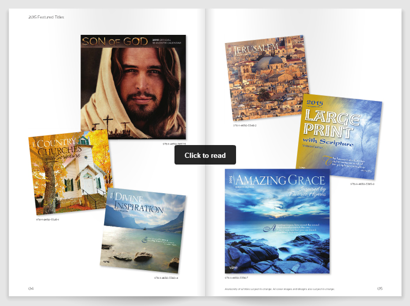 2015 Vine Publications Catalog
